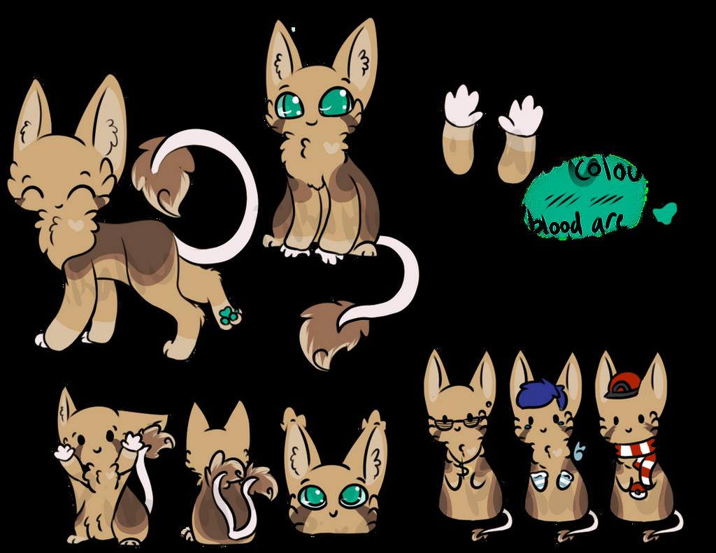 Kage-La's Species Reference by starsleeps