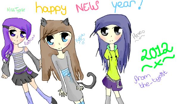 Happy new year by MissTypist