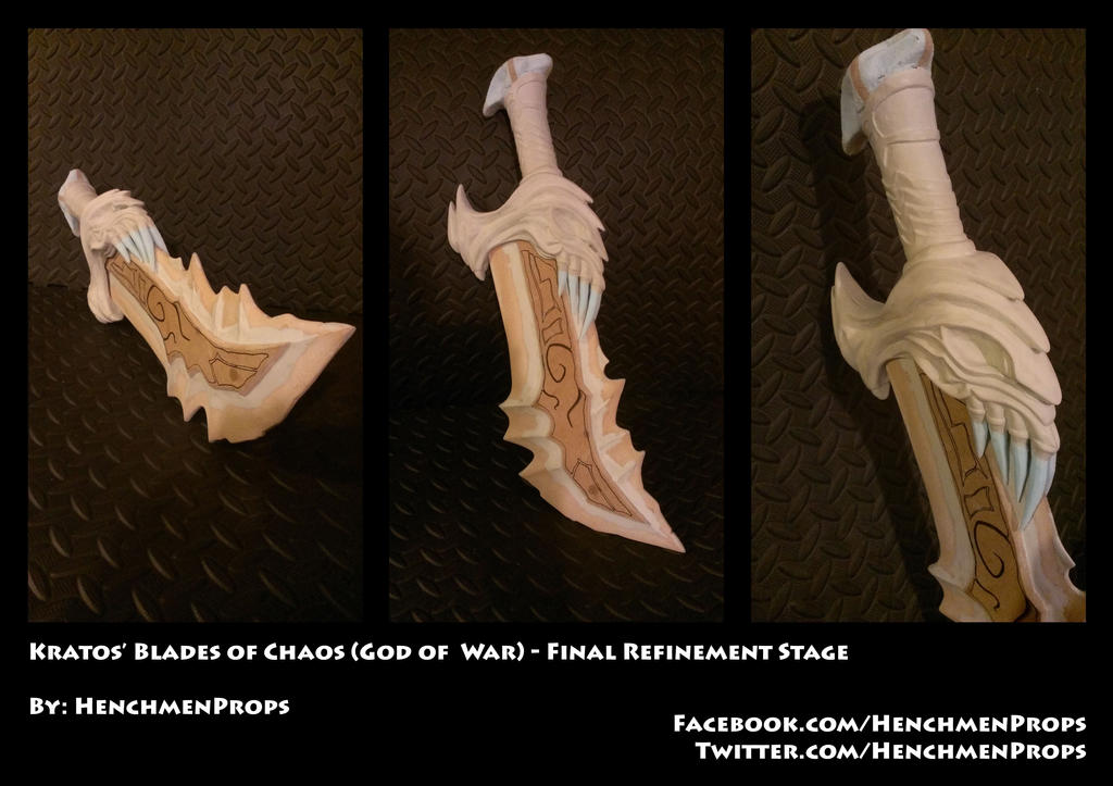 Blades of Chaos (God of War) - Final Refinement by ...