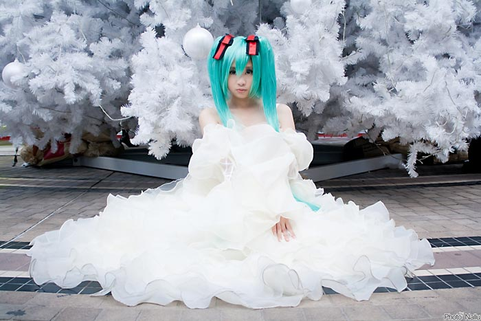 Cosplay - Miku by Korixxkairi