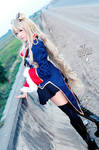 Code Geass Gaiden Akito - Layla Malcal cosplay by Korixxkairi