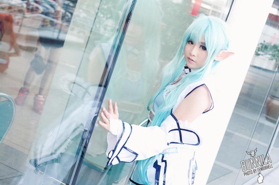 SAO- alo Asuna cosplay by Korixxkairi
