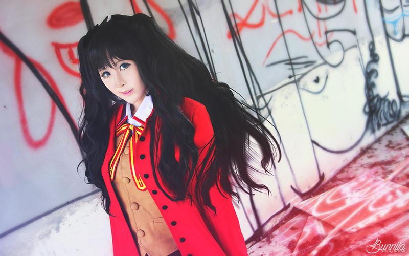 Tohsaka Rin cos - Fate UBW by Korixxkairi