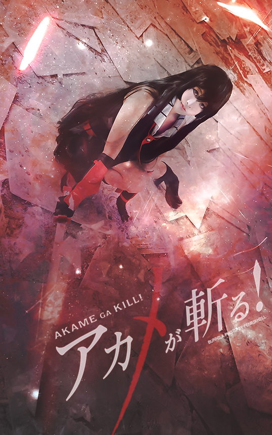 Akame ga Kill - Akame cos by Korixxkairi