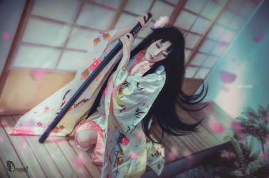 FateGrandOrder x Kara no kyoukai - Ryougi Shiki (S by Korixxkairi