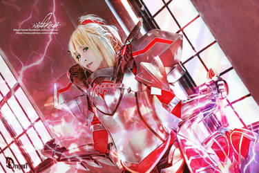 Cosplay Fate Mordred