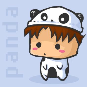 png: lewis panda by penguiinn