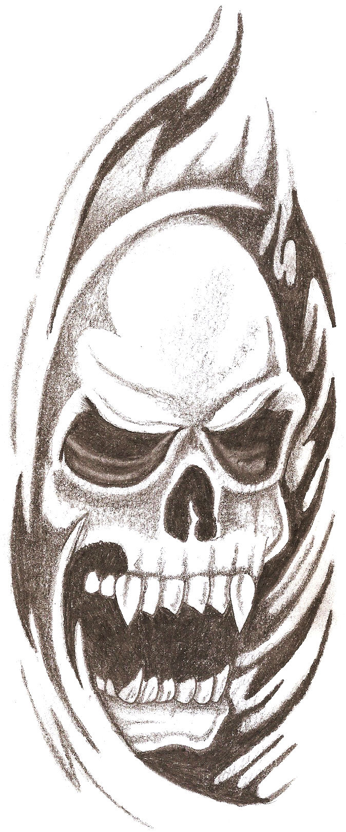 cool skull drawings - Video Search Engine at Search.com