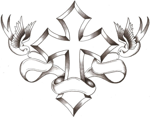 1000  images about Cross Tattoos on Pinterest | Cross tattoos ...