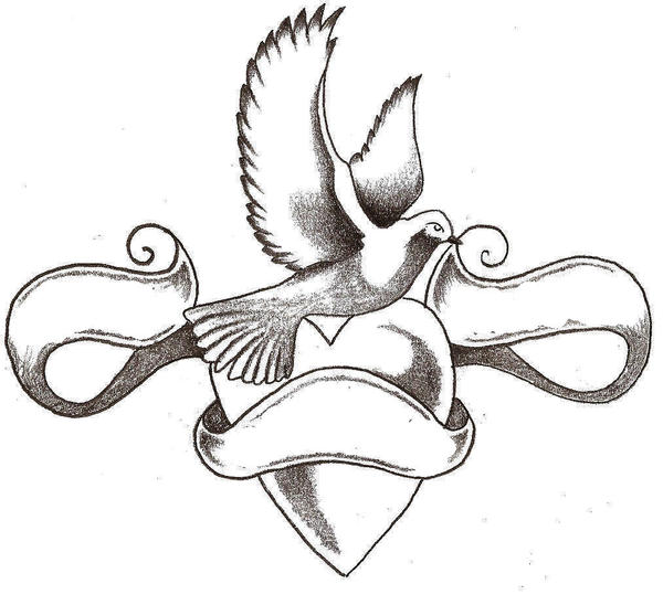 Dove Tattoo Designs Gallery 8