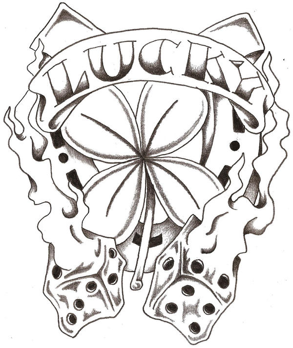 Lucky tattoos are very lucky tattoos; you can wear one of them and try your