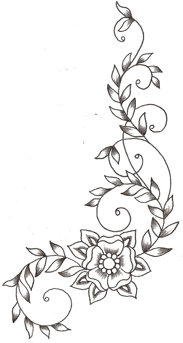 Vines And Flower By TheLob On DeviantArt