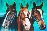 Sally, Lady and Patch by pErs