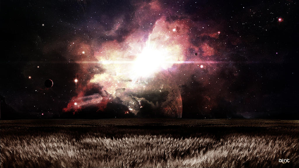 Space Wallpaper by blnt44