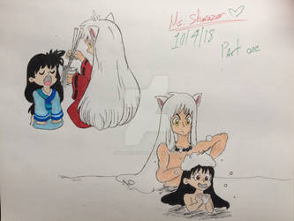 Young Kagome and Inuyasha. Part 1 by Ms-Sharazar