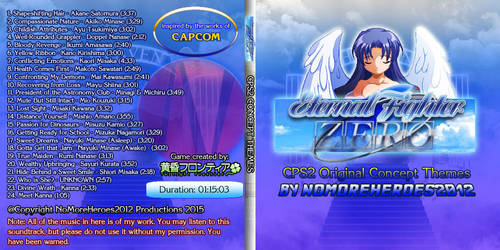 EFZ CPS2 Concept Themes Complete Album Cover by nomoreheroes2012