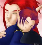 A Son's Embrace by paulinca