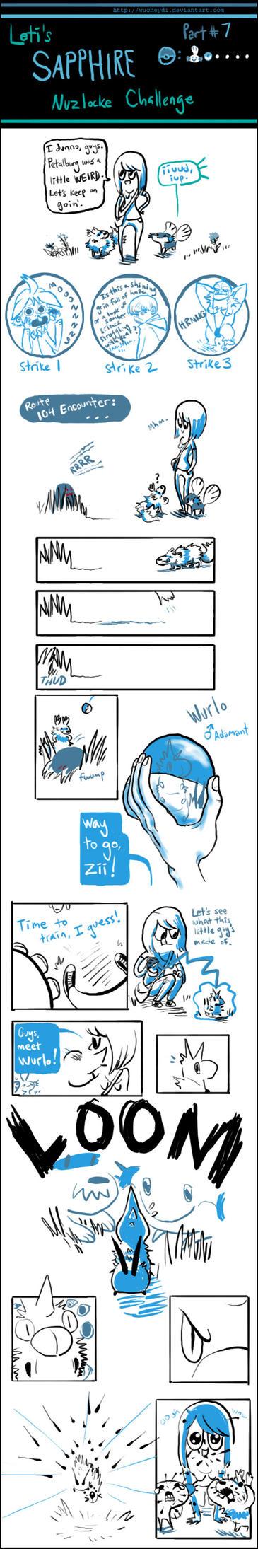 Sapphire: Part 7 by wucheydi