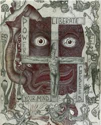 Swastika Cross by Chelovek