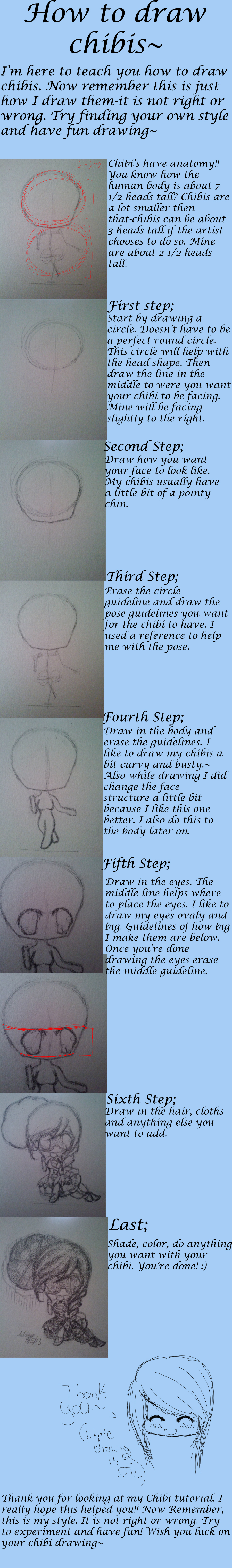How To Draw Chibi's by xXNightRose14Xx
