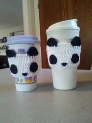 Panda Cup Cozies