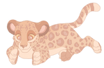 Blind Strawberry Leopard AUCTION [CLOSED] by Dinogirl4ever