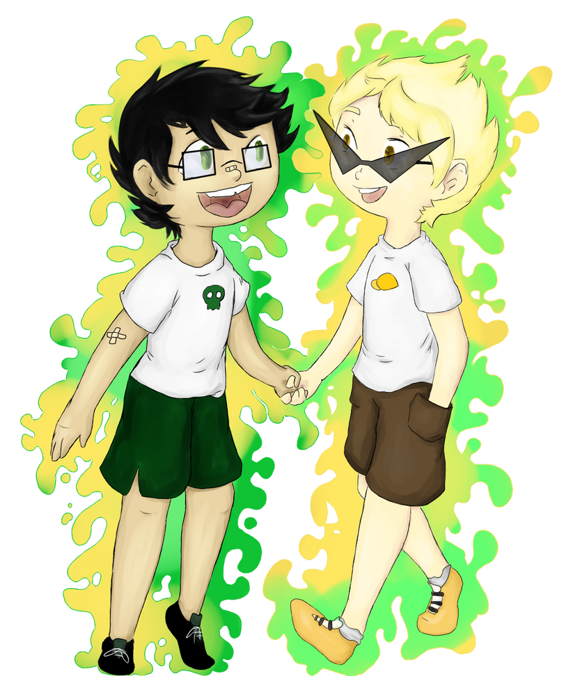 Dirk and Jake by Eisschweif