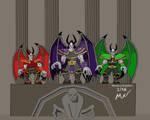 Warcraft Dreadlords Nathrezim Potentates