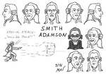 Smith Adamson Character Design Head Turnaround