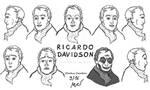 Ricardo Davidson Character Design Head Turnaround