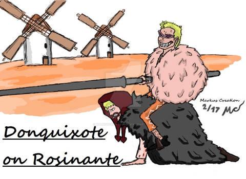 Donquixote on Rosinante