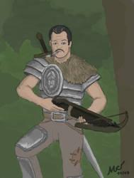 Gothic 2 Soeldner Mercenary rough Idea Sketch