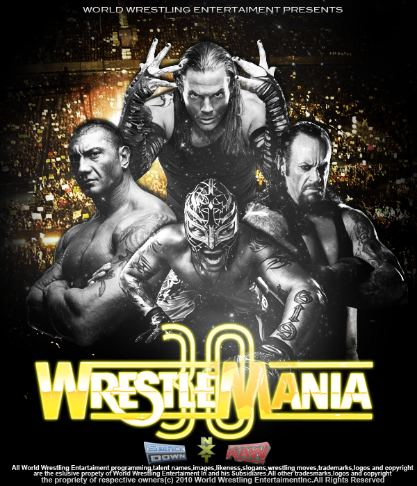 Wrestlemania 30 Poster by Jericho4Life