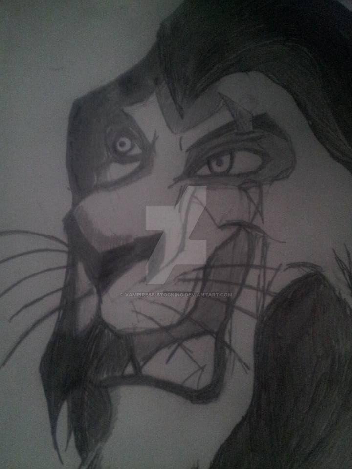 Scar Drawing by Vampiress-Stocking