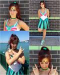 Casual Sailor Jupiter Cosplay