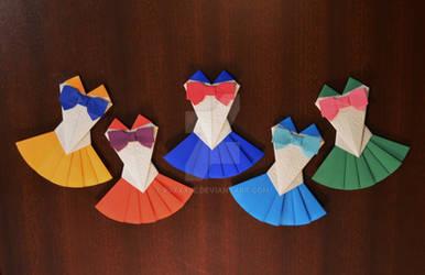 Sailor Moon Origami Fuku