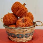 Crochet Amigurumi Mini Pumpkins