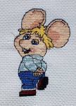 Topo Gigio Cross-Stitch by PiixXxiiE