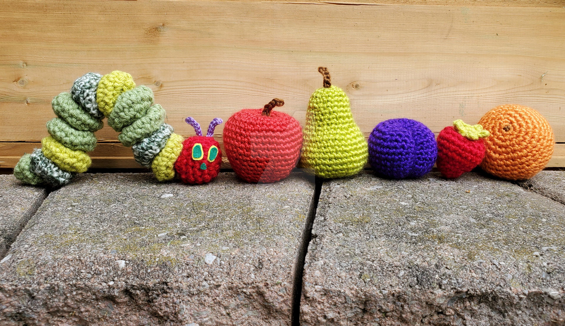 The Very Hungry Caterpillar Crochet Amigurumi