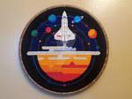 Space Exploration Cross-Stitch