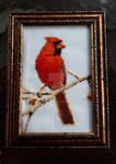 Cardinal Cross-Stitch