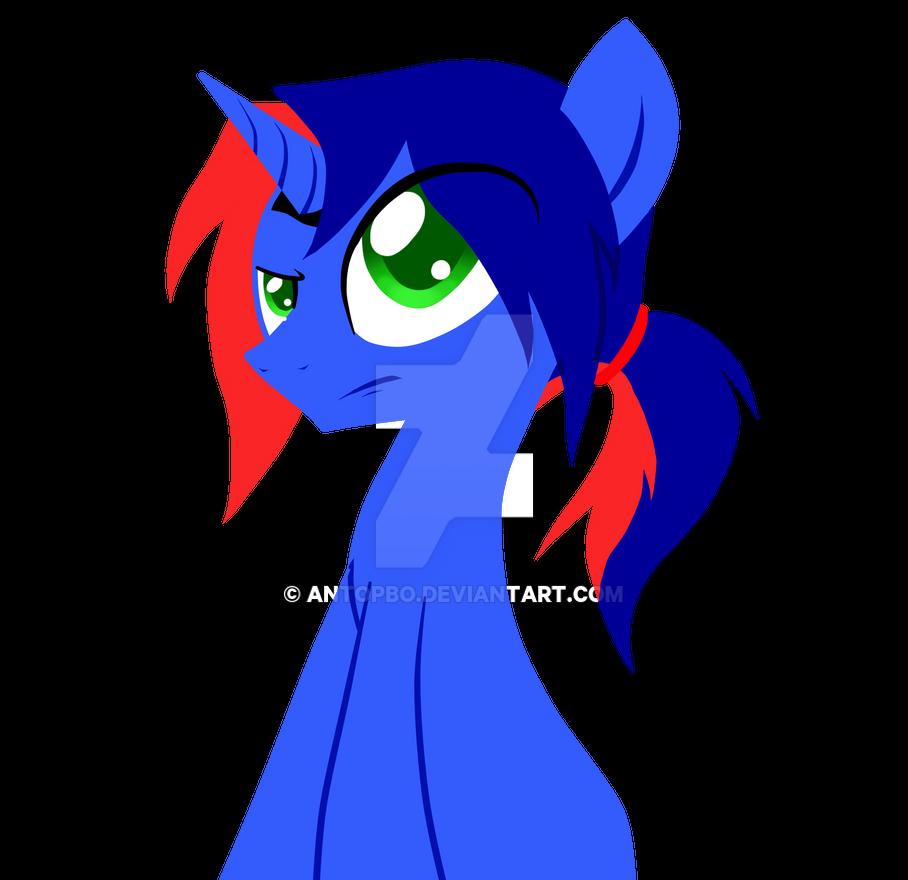 Blue cola de caballo by AntoPbo