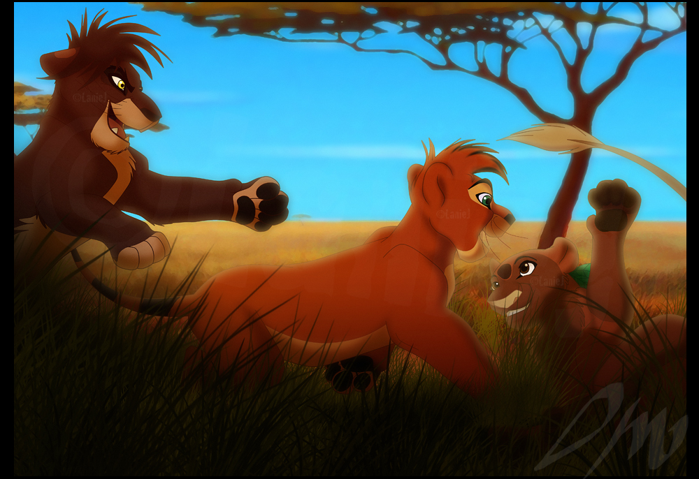 Playing In The Shade by LanieJ