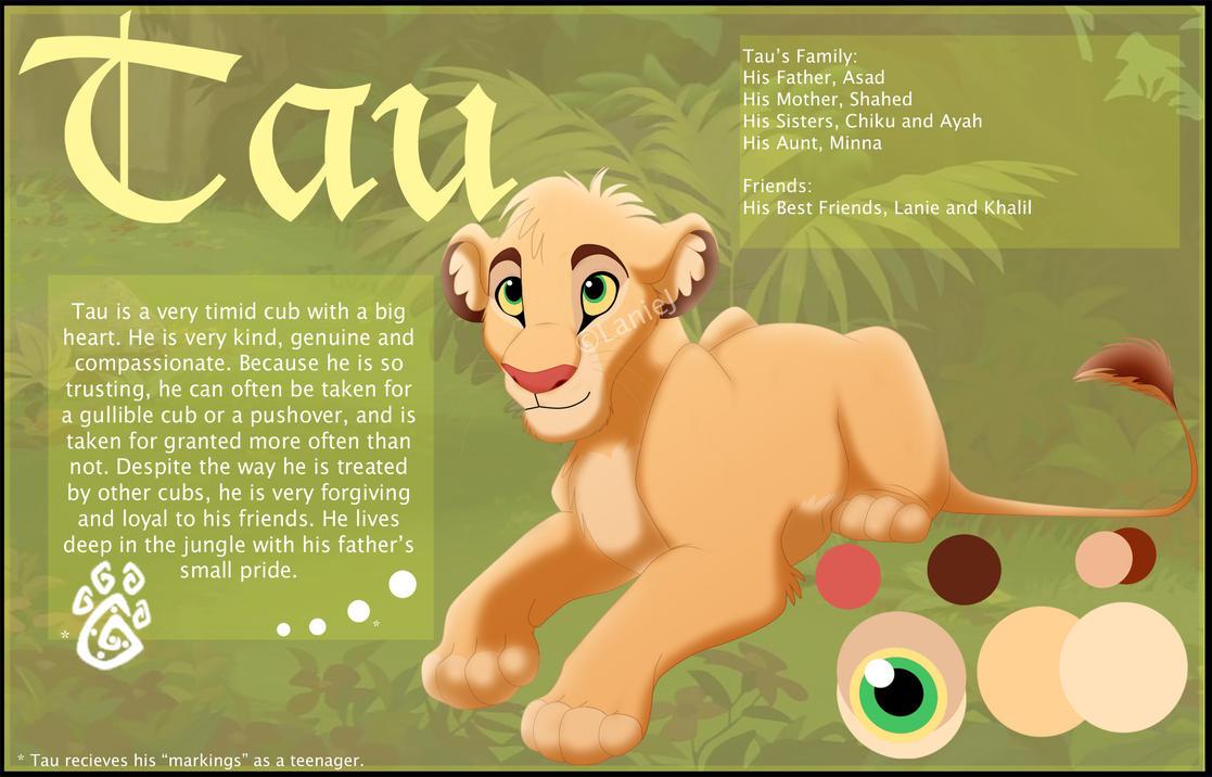 Tau Reference (Cub) by LanieJ