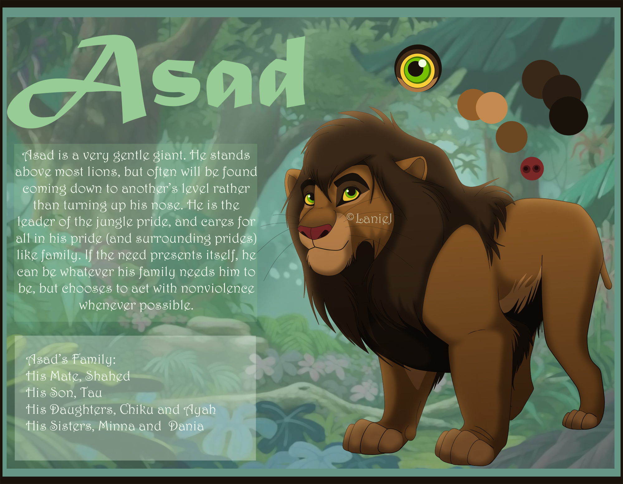 Asad Character Reference by LanieJ
