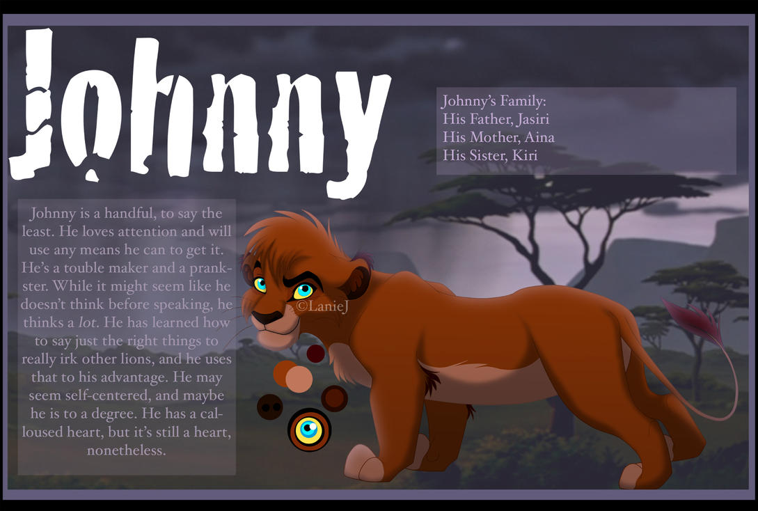 Johnny Reference (Cub) by LanieJ