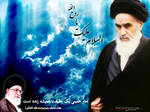 Imam Khomeiny by shiaking