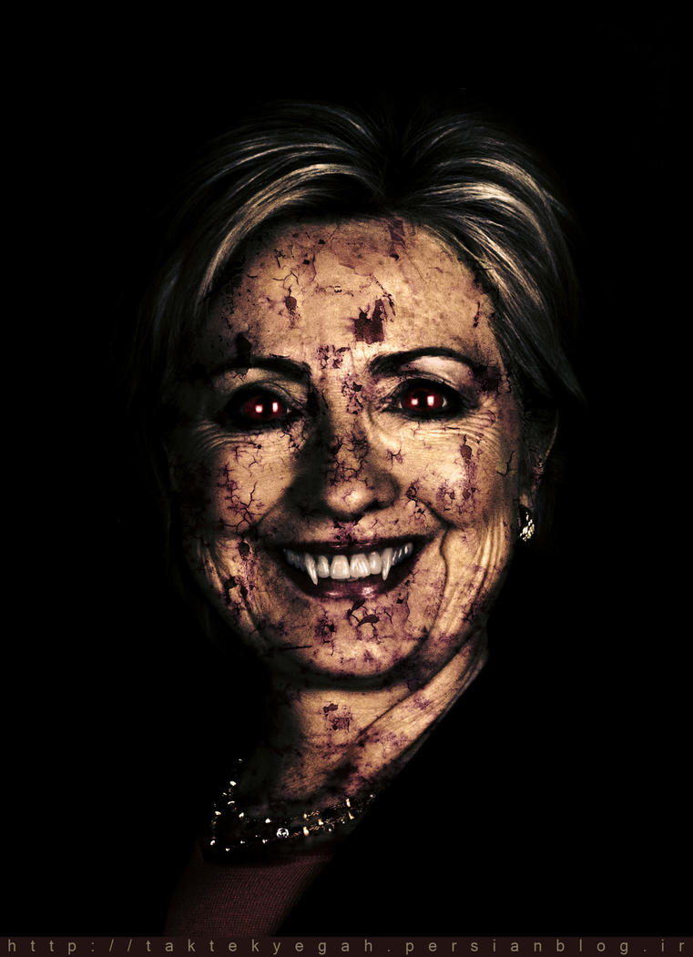 Hillary Clinton by shiaking