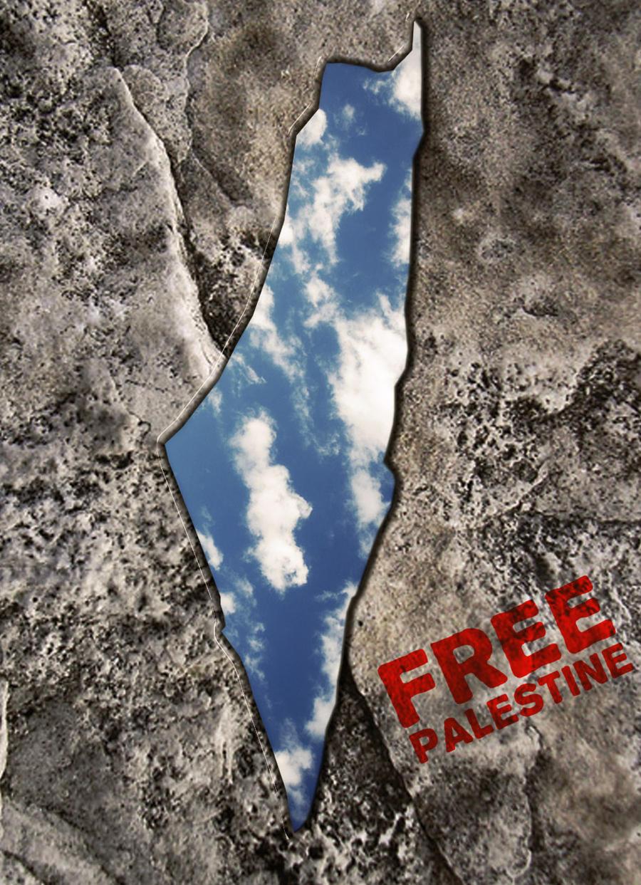 Free Palestine by shiaking