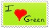 I love Green by SaakuAndLu
